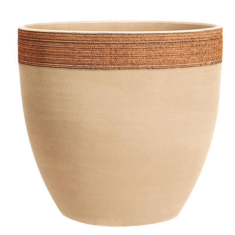 Cachepot Murano Terracotta Graffiata | Degrea: Produzione di vasi in terracotta