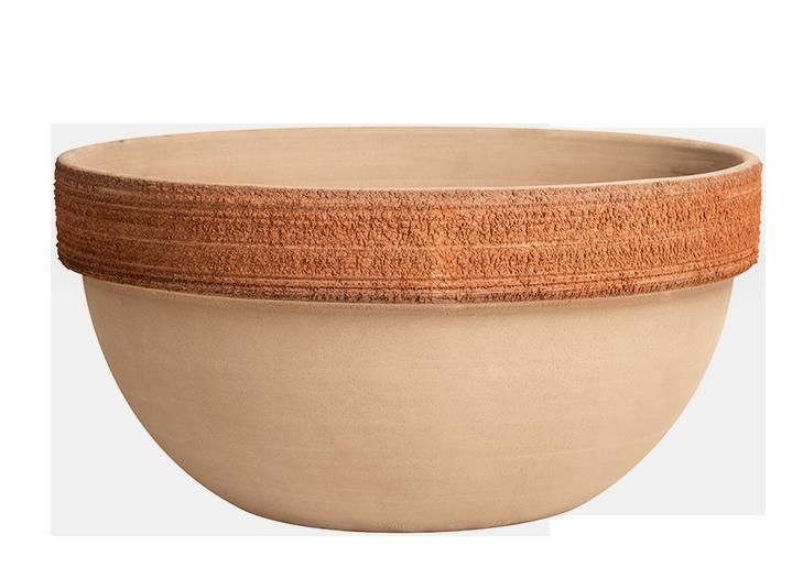 Ciotola Ibis Terracotta Graffiata | Degrea: Produzione di vasi in terracotta