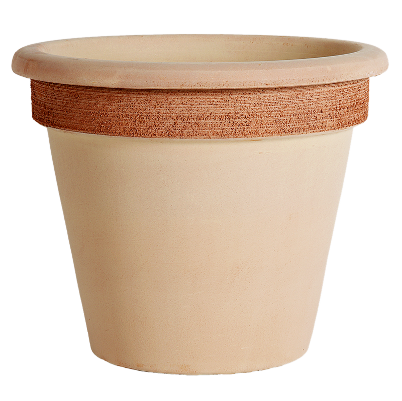 Vaso Camelia Terracotta Graffiata | Degrea: Produzione di vasi in terracotta