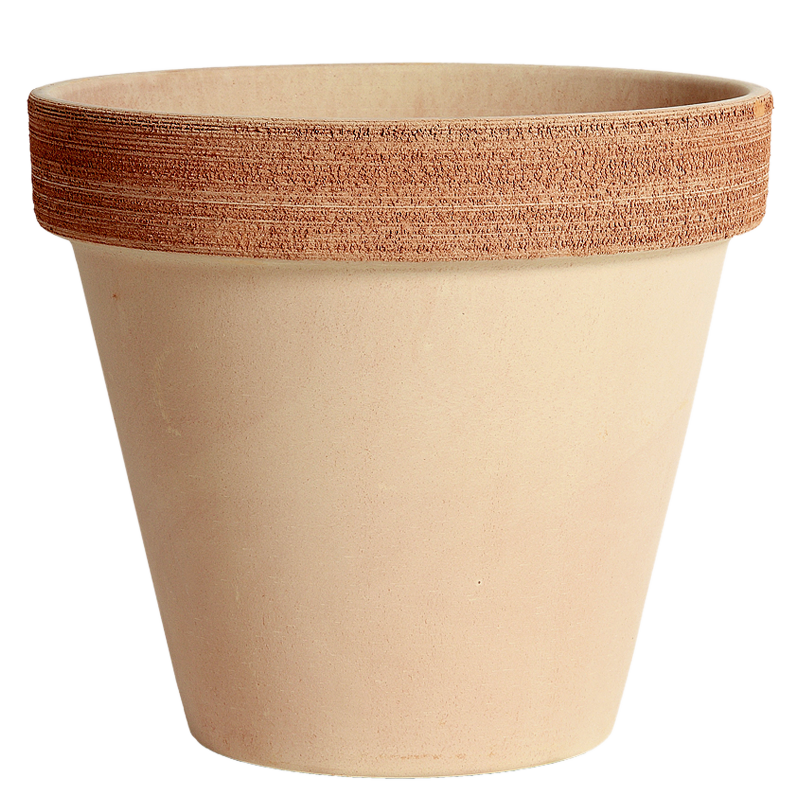 Vaso Terracotta Graffiata | Degrea: Produzione di vasi in terracotta