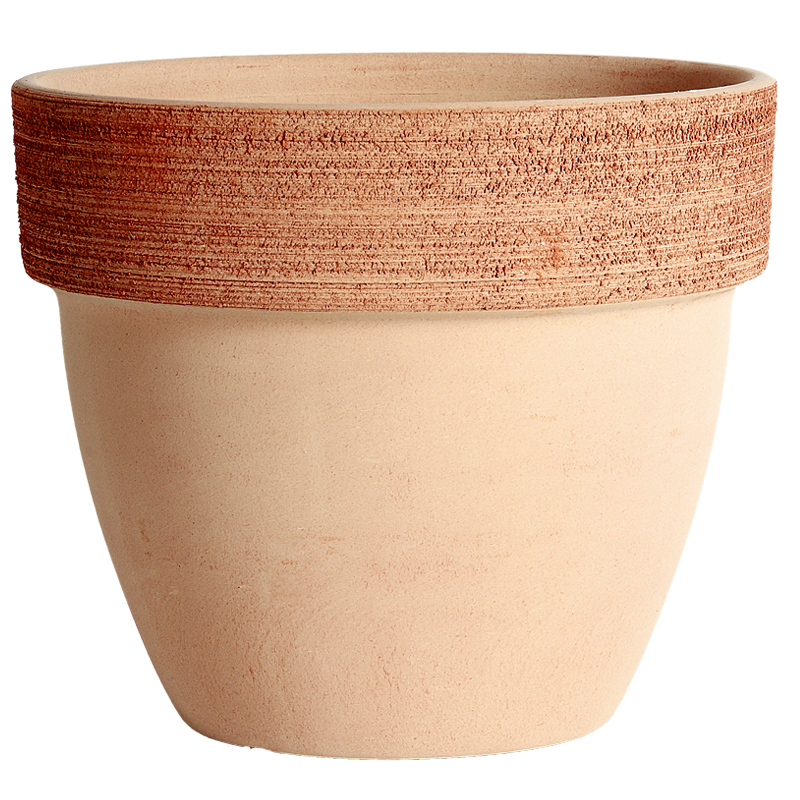 Vaso Palladio Terracotta Graffiata | Degrea: Produzione di vasi in terracotta