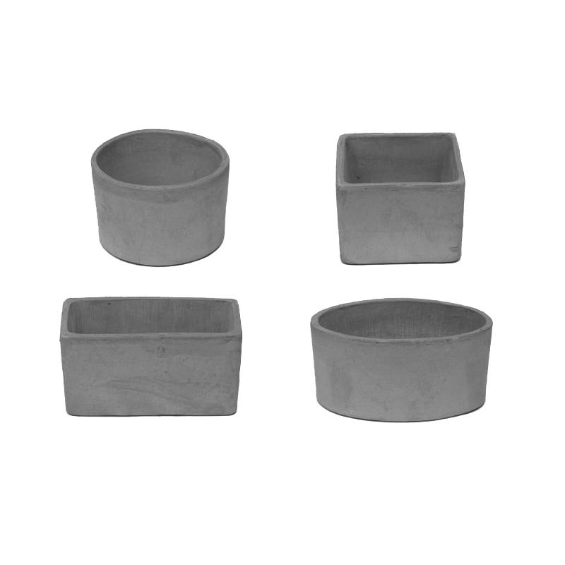 Baby Pot Geometrico Terracotta Oasi Vesuvio | Degrea: Produzione di vasi in terracotta