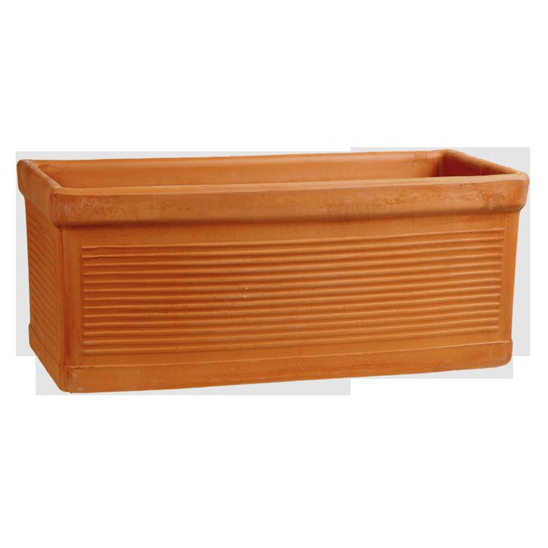 Cassetta Millerighe Terracotta Classica | Degrea: Produzione di vasi in terracotta