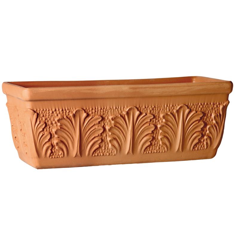 Cassetta Roma Terracotta Classica | Degrea: Produzione di vasi in terracotta