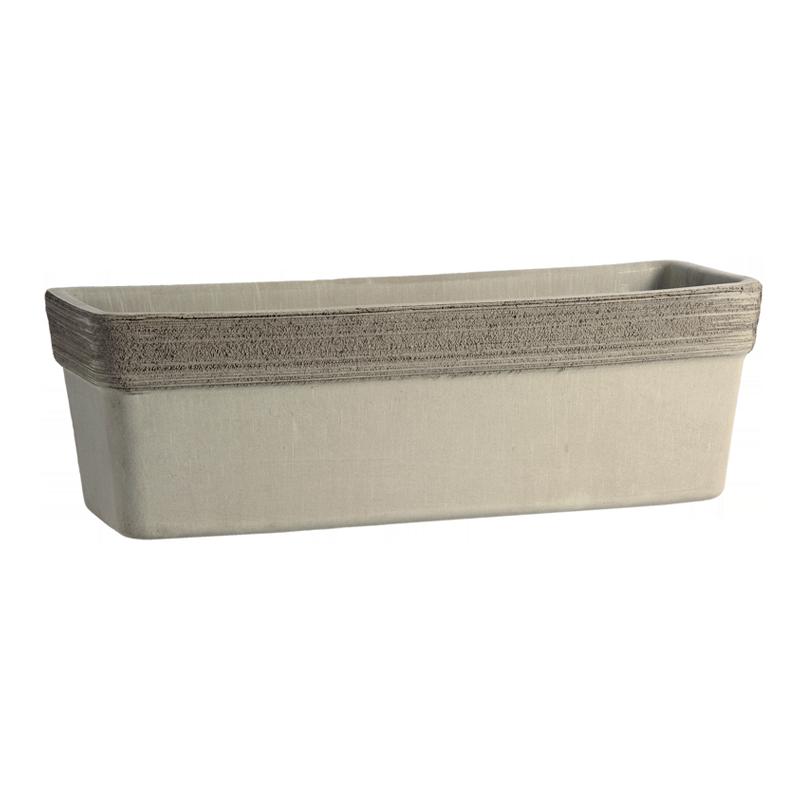 Cassetta Veneziana Terracotta Vulcano Graffiata | Degrea: Produzione di vasi in terracotta