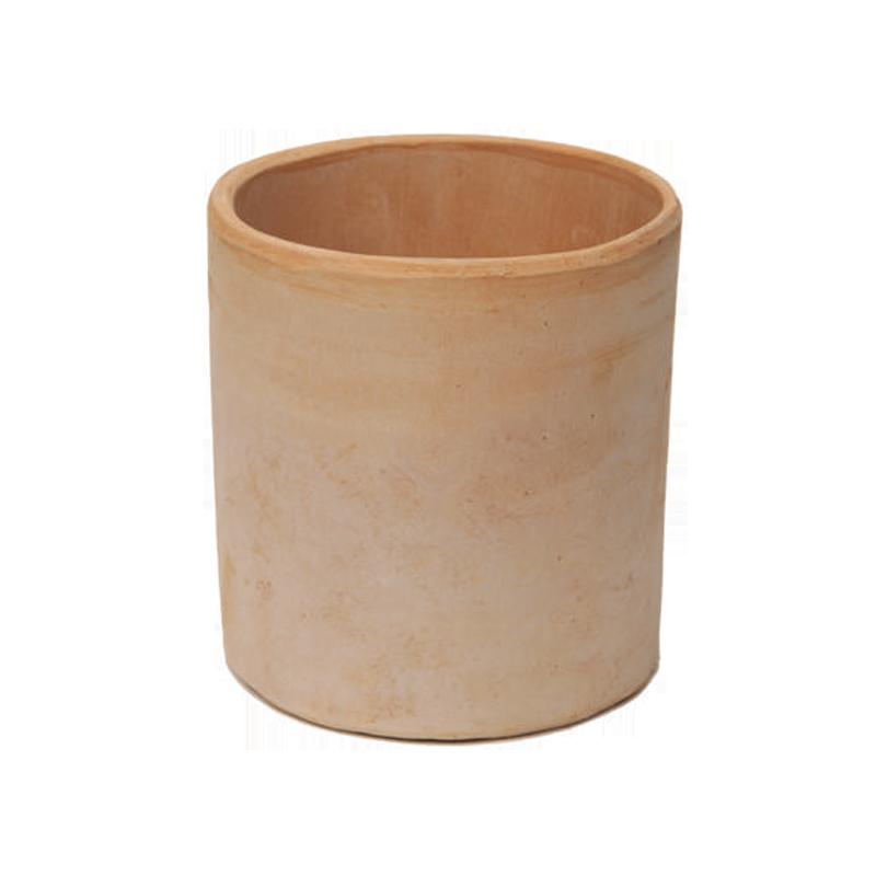 Cilindro Liscio Basso Terracotta Oasi Contemporanea | Degrea: Produzione di vasi in terracotta