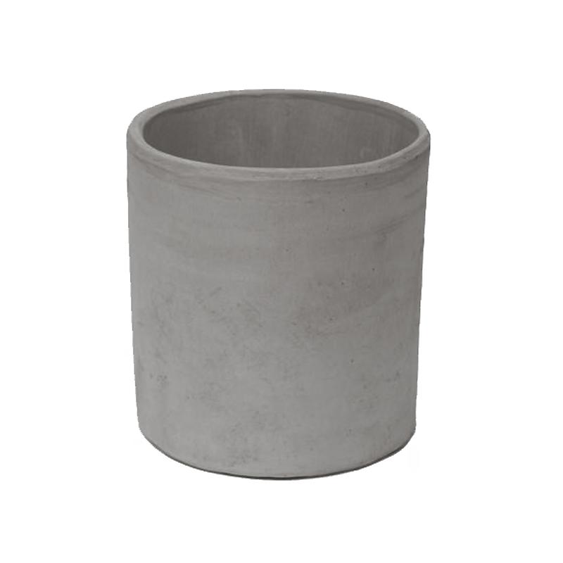 Cilindro Liscio Basso Terracotta Oasi Vesuvio | Degrea: Produzione di vasi in terracotta