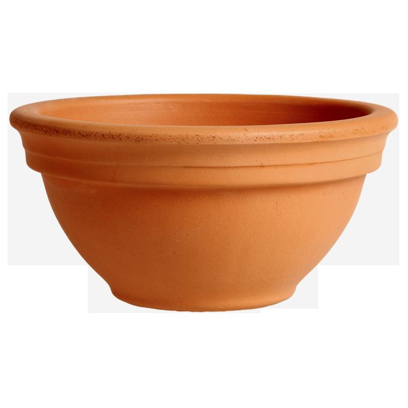 Ciotola Ciclamino Terracotta Classica | Degrea: Produzione di vasi in terracotta