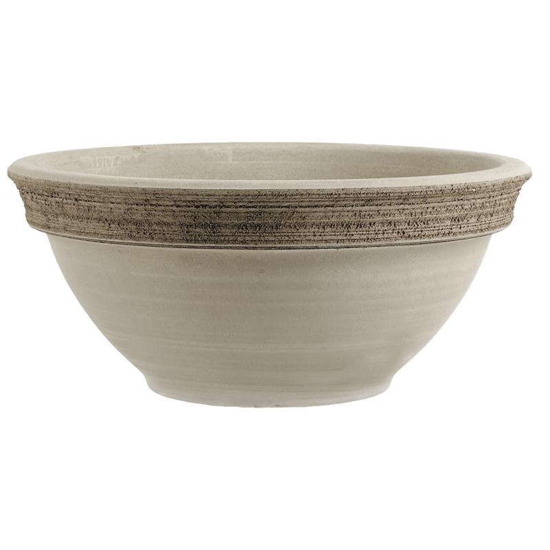 Ciotola Ciclamino Terracotta Vulcano Graffiata | Degrea: Produzione di vasi in terracotta