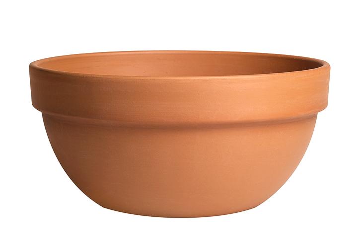 Ciotola Bis Terracotta Classica | Degrea: Produzione di vasi in terracotta