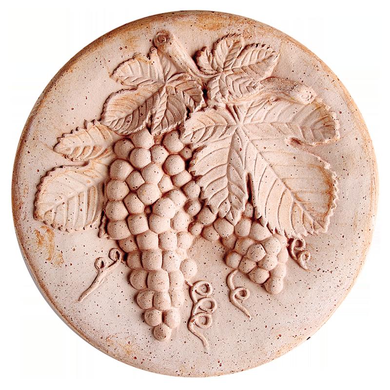Medaglione Autunno Terracotta Oasi | Degrea: Produzione di vasi in terracotta