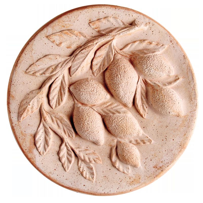 Medaglione Inverno Terracotta Oasi | Degrea: Produzione di vasi in terracotta