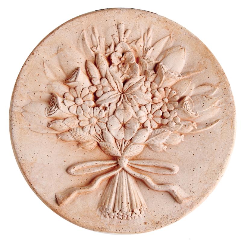 Medaglione Primavera Terracotta Oasi | Degrea: Produzione di vasi in terracotta
