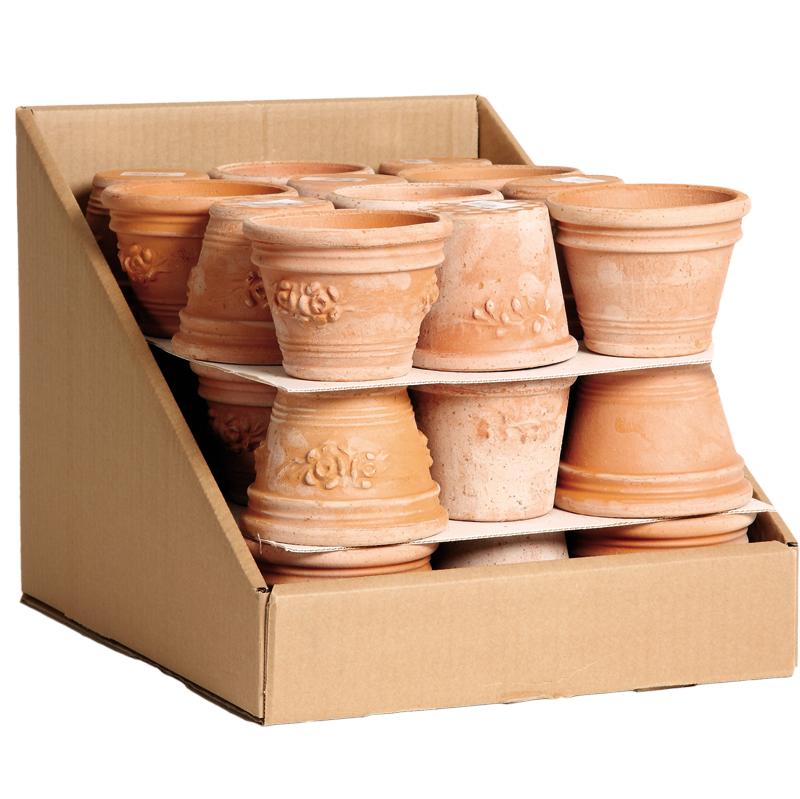 Montecalcino Box Terracotta Oasi | Degrea: Produzione di vasi in terracotta