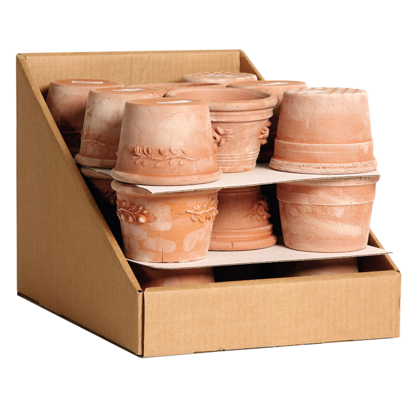 Montecatini Box Terracotta Oasi | Degrea: Produzione di vasi in terracotta