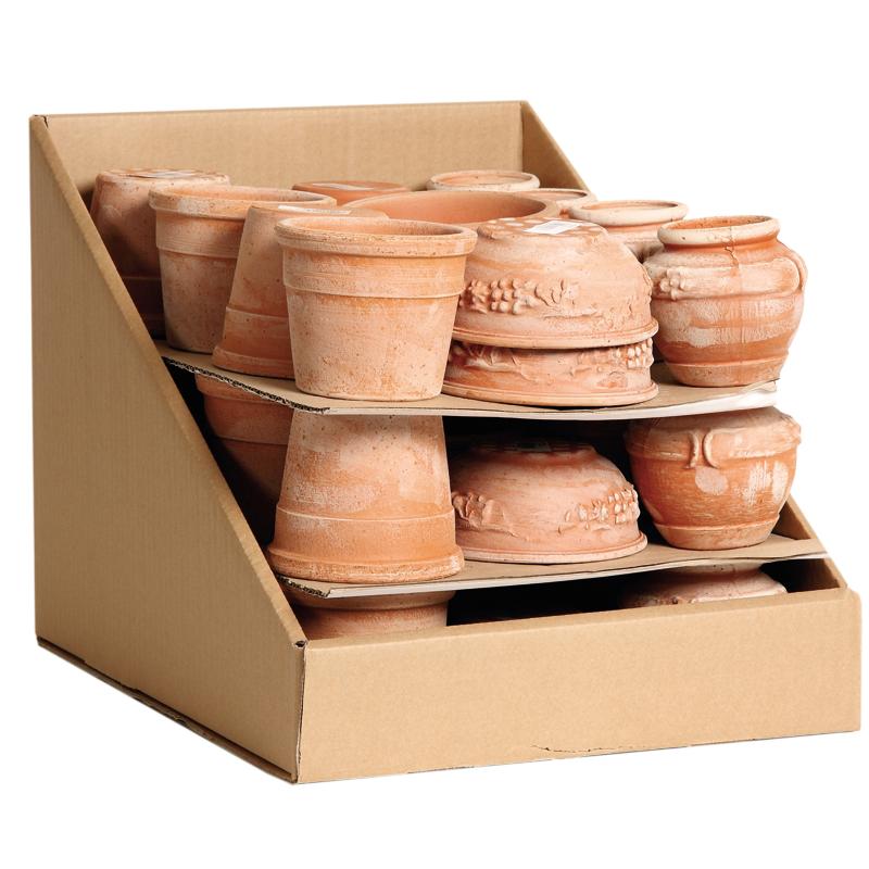 Montepulciano Box Terracotta Oasi | Degrea: Produzione di vasi in terracotta