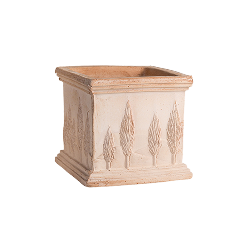Quadro Cipressi Terracotta Oasi Classica | Degrea: Produzione di vasi in terracotta