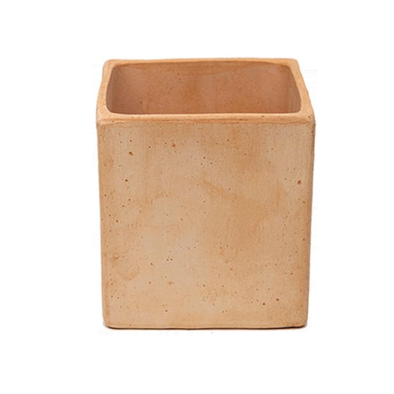 Quadro Liscio Basso Terracotta Oasi Contemporanea | Degrea: Produzione di vasi in terracotta