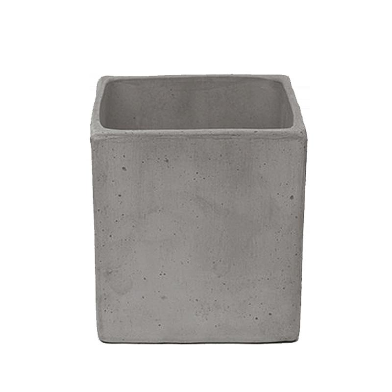 Quadro Liscio Basso Terracotta Oasi Vesuvio | Degrea: Produzione di vasi in terracotta
