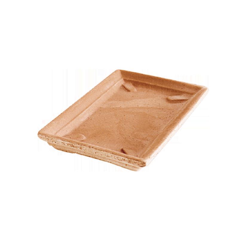 Sottocassetta Rettangolare Terracotta Oasi Contemporanea | Degrea: Produzione di vasi in terracotta