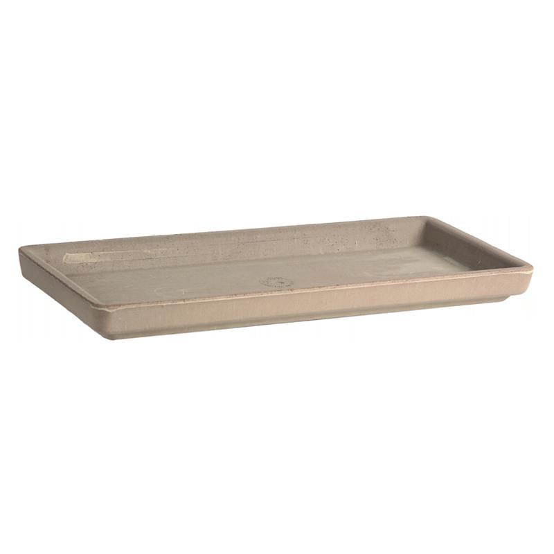 Sottocassetta Terracotta Vulcano Graffiata | Degrea: Produzione di vasi in terracotta