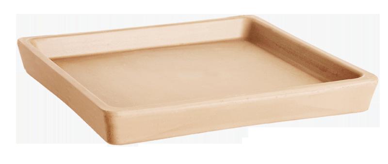 Sottovaso Quadro Terracotta Arena | Degrea: Produzione di vasi in terracotta