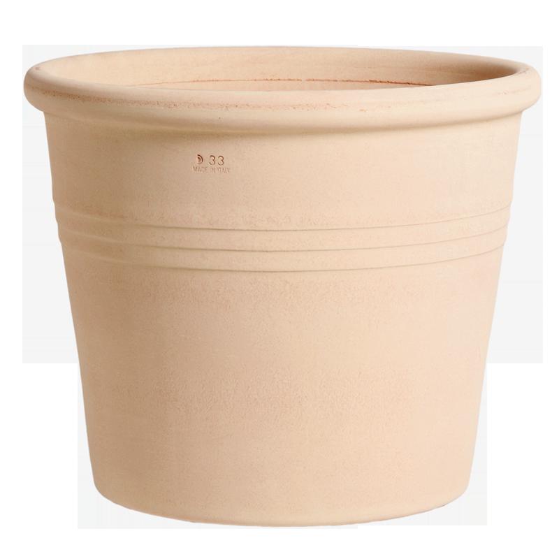 Vaso Cilindro Terracotta Arena | Degrea: Produzione di vasi in terracotta