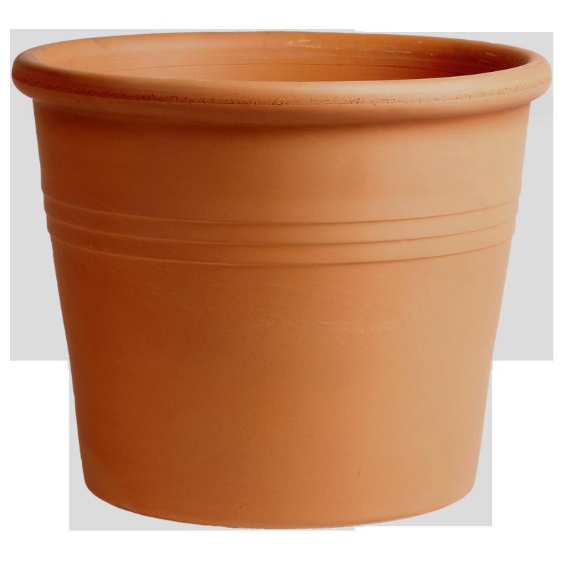 Vaso Cilindro Terracotta Classica | Degrea: Produzione di vasi in terracotta