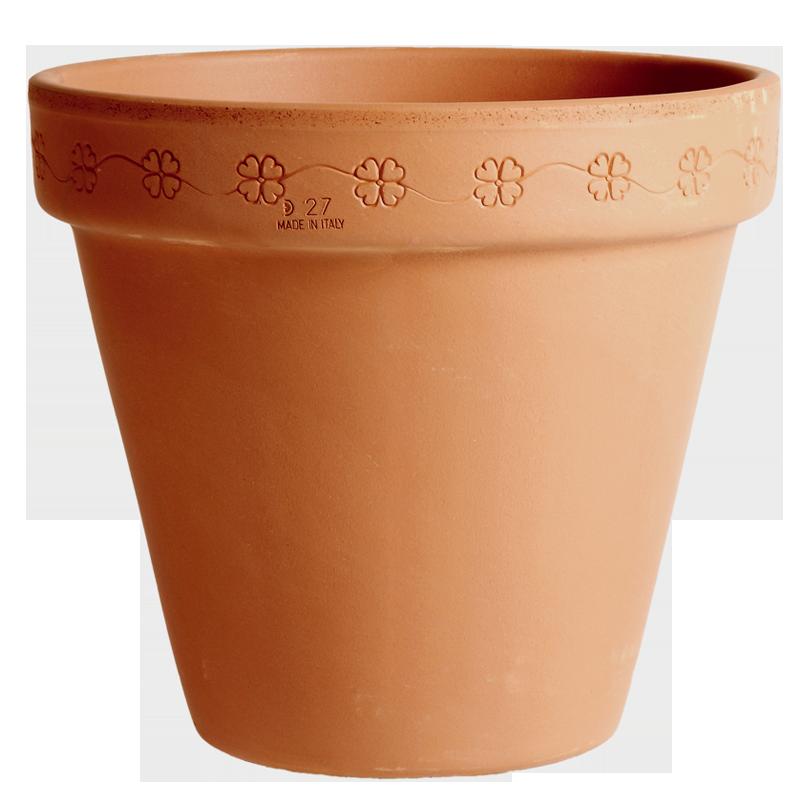 Vaso Margherita Terracotta Classica | Degrea: Produzione di vasi in terracotta