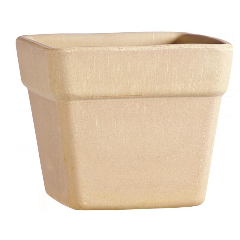 Vaso Quadro Terracotta Arena | Degrea: Produzione di vasi in terracotta